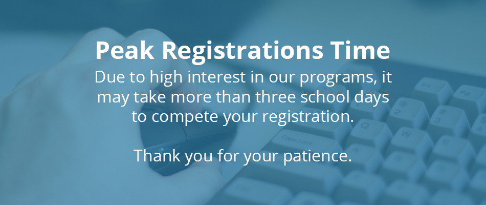 Peak Registrations Time