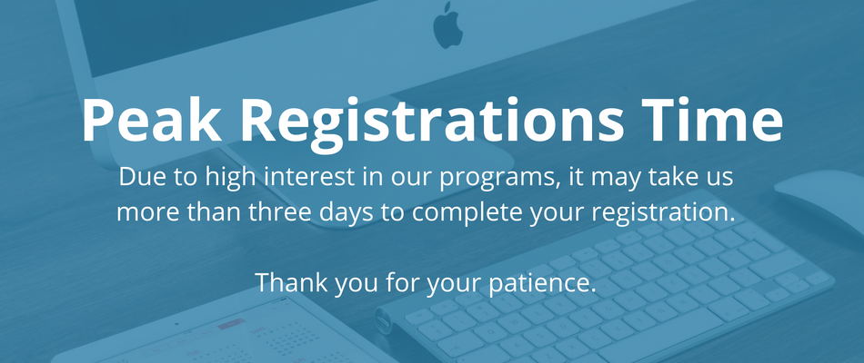Peak Registrations Time