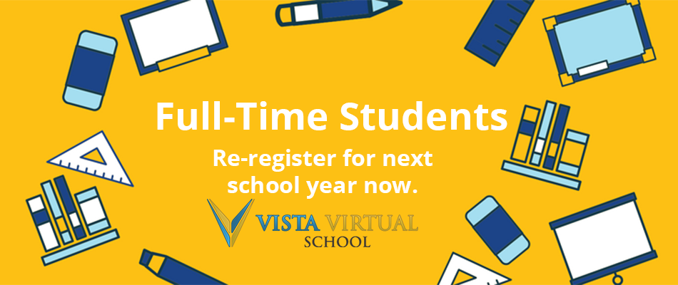 Re-Register for Next School Year Now