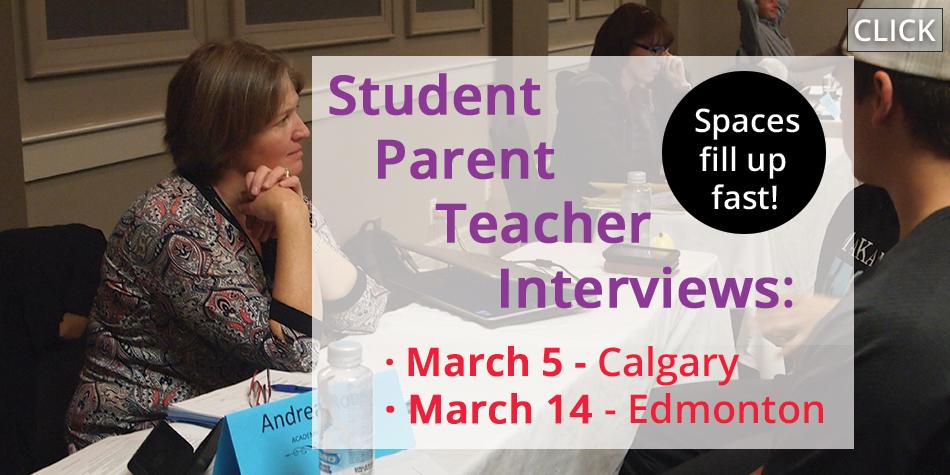 Student Parent Teacher Interviews (SPTs)