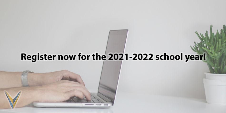 Register Now for 2021-2022